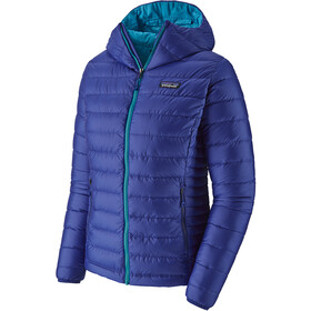 Patagonia Down Sweater Capuchon Jas Dames, cobalt blue